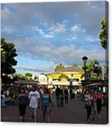 Downtown Disney Anaheim - 12124 Canvas Print