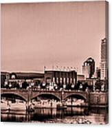 Downtown Indianapolis Canvas Print