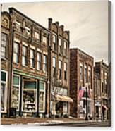 Downtown Jonesborough Canvas Print