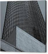 Downtown La Skyscraper Canvas Print