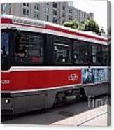 Downtown Light Rail Toronto Ontario Canvas Print