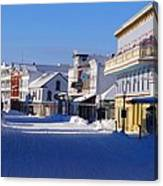 Downtown Mackinac In The Early Morning Canvas Print