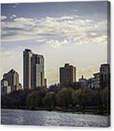 Downtown Milwaukee From Lakefront Canvas Print