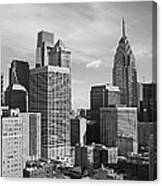 Downtown Philadelphia Canvas Print