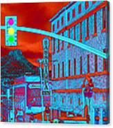 Downtown Prescott Arizona  Canvas Print
