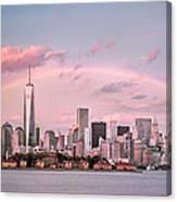 Downtown Rainbow Canvas Print