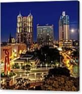 Downtown San Antonio Canvas Print