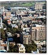 Downtown Savannah Canvas Print