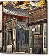 Downtown Silver Plume Canvas Print