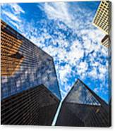 Downtown Skyscrapers Canvas Print