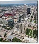 Downtown St Louis Canvas Print