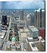 Downtown St. Louis Canvas Print