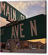 Downtown State Center Canvas Print