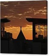 Downtown Sunrise Canvas Print