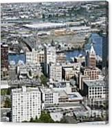 Downtown Tacoma Washington Canvas Print