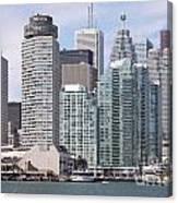 Downtown Toronto Ontario Canvas Print