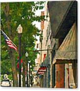 Downtown Usa Canvas Print