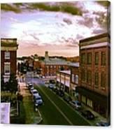 Downtown Washington Nc Canvas Print