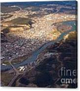 Downtown Whitehorse Yukon Territory Canada Canvas Print