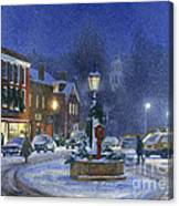 Downtown Woodstock Canvas Print