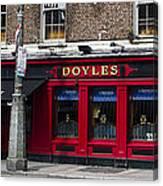Doyles The Times We Live Inn - Dublin Ireland Canvas Print