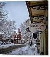 Doylestown Inn Canvas Print