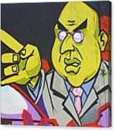 Dr Evil Canvas Print