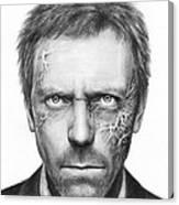 Dr. Gregory House - House Md Canvas Print