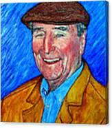Dr James E Roderick Canvas Print