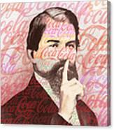 Dr. John Pemberton Inventor Of Coca-cola Canvas Print