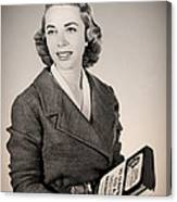 Dr Joyce Brothers 1959 Canvas Print