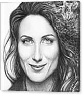 Dr. Lisa Cuddy - House Md Canvas Print