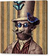 Dr. Popinjay Canvas Print