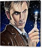 Dr Who #10 - David Tennant Canvas Print