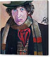 Dr Who #4 - Tom Baker Canvas Print