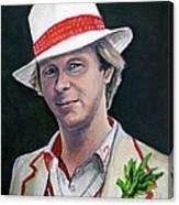 Dr Who #5 - Peter Davison Canvas Print