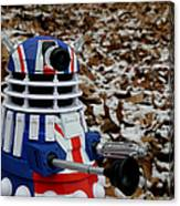 Dr Who - Forest Dalek Canvas Print