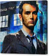 Dr Who Number 10  Canvas Print