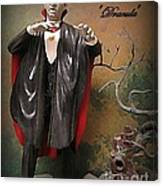 Dracula Model Kit Canvas Print