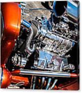 Drag Queen - Hot Rod Blown Chrome  Canvas Print