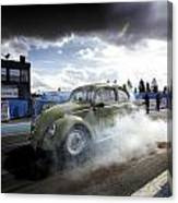 Drag Racing 1 Canvas Print