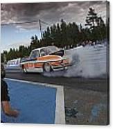 Drag Racing 3 Canvas Print