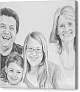 Dragojlovic Family Canvas Print
