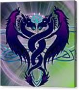 Dragon Duel Series 2 Canvas Print