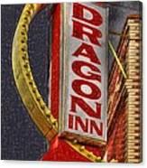 Dragon Inn Restaurant  Canvas Print