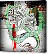 Dragon Inverted Canvas Print