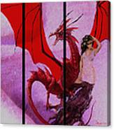 Dragon Power-featured In Comfortable Art Group Canvas Print