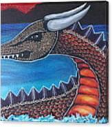 Dragon Three Canvas Print