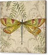 Dragonfly Daydreams-a Canvas Print