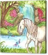 Dragonfly Days Canvas Print